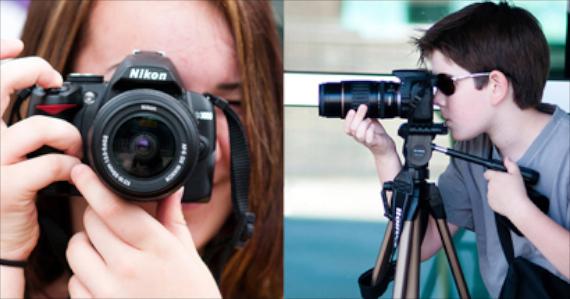 Unge fotografer og havgregrynsgrøt